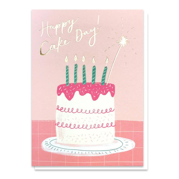 Stormy Knight Happy Cake Day Birthday Card