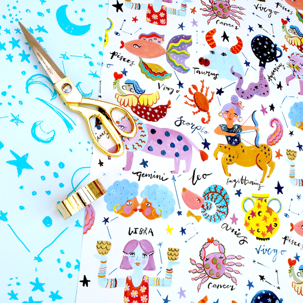 Eleanor Bowmer Horoscopes Gift Wrap