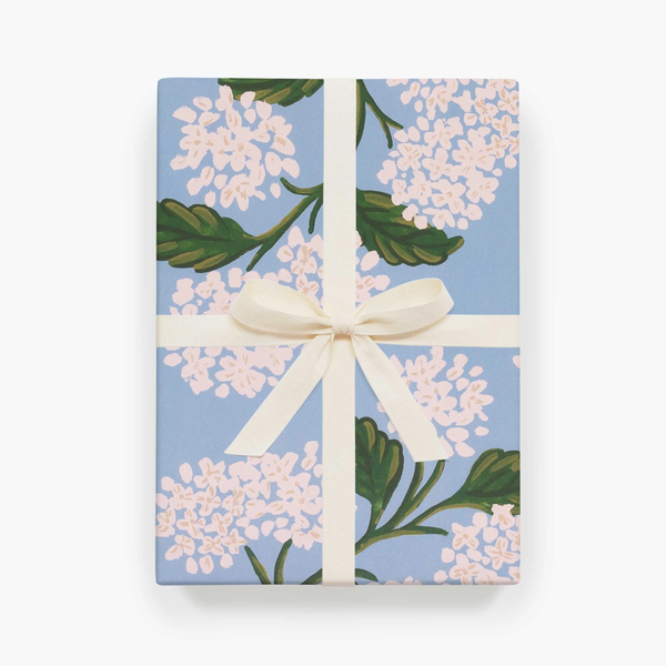 Rifle Paper Co. Hydrangea Gift Wrap