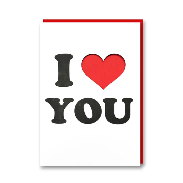 1973 I Heart You Card