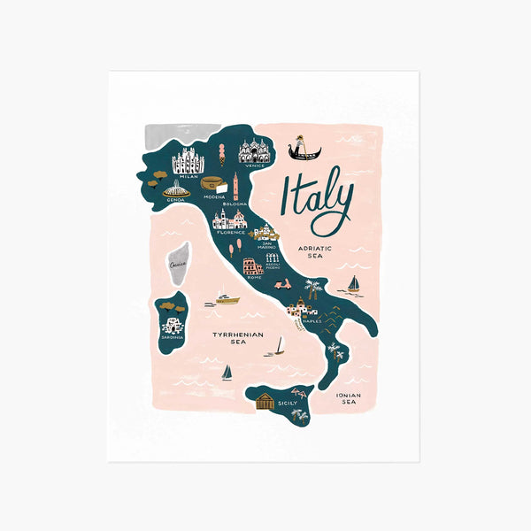 Rifle Paper Co. Italy Art Print