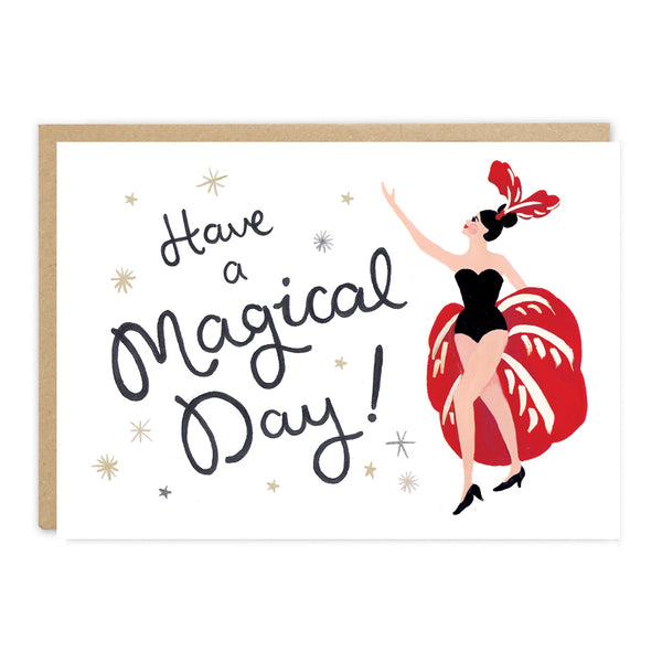 Jade Fisher Esmeralda Birthday Card - Magical Day