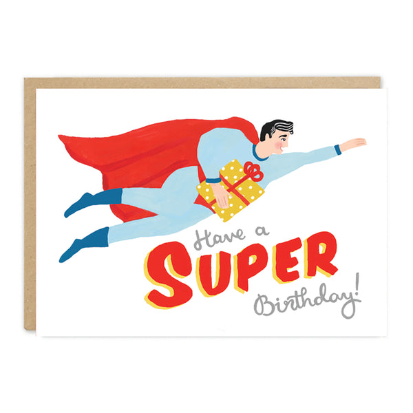 Jade Fisher Clark Birthday Card - Super