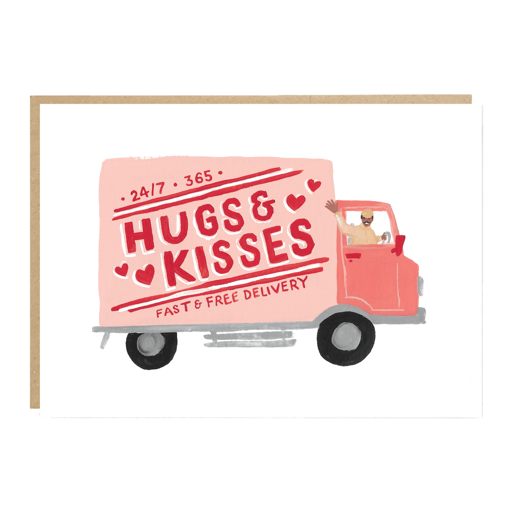 Jade Fisher Leigh Card - Hugs & Kisses