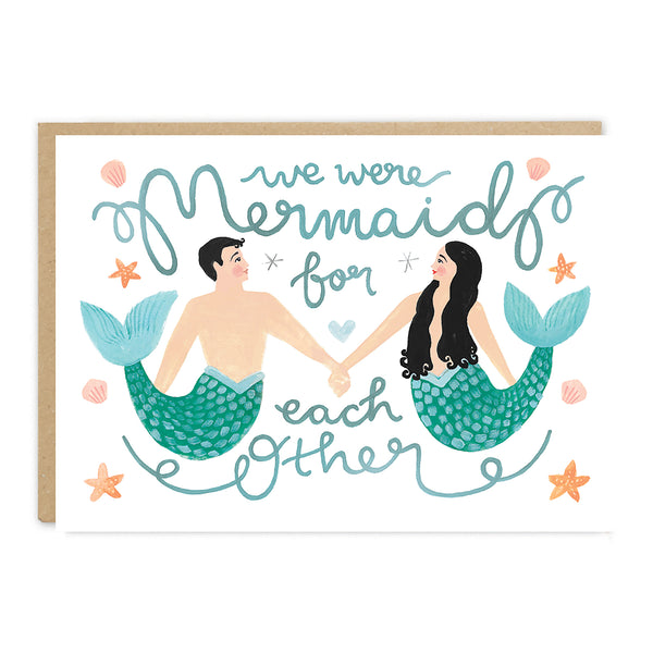 Jade Fisher Sebastian Card - Mermaid For Each Other