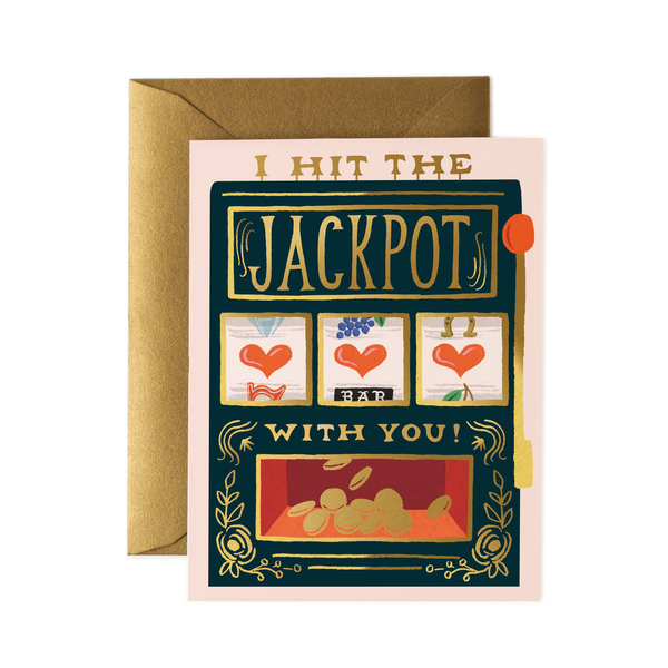 Rifle Paper Co. Jackpot Card