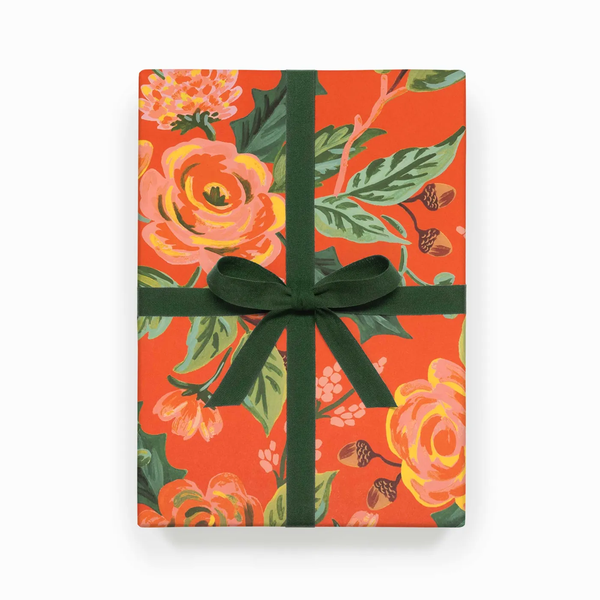 Rifle Paper Co. Jardin Noel Christmas Gift Wrap