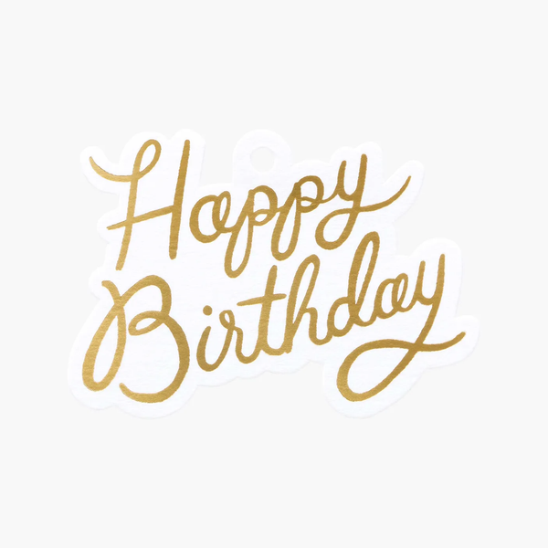 Rifle Paper Co. Happy Birthday Gift Tags