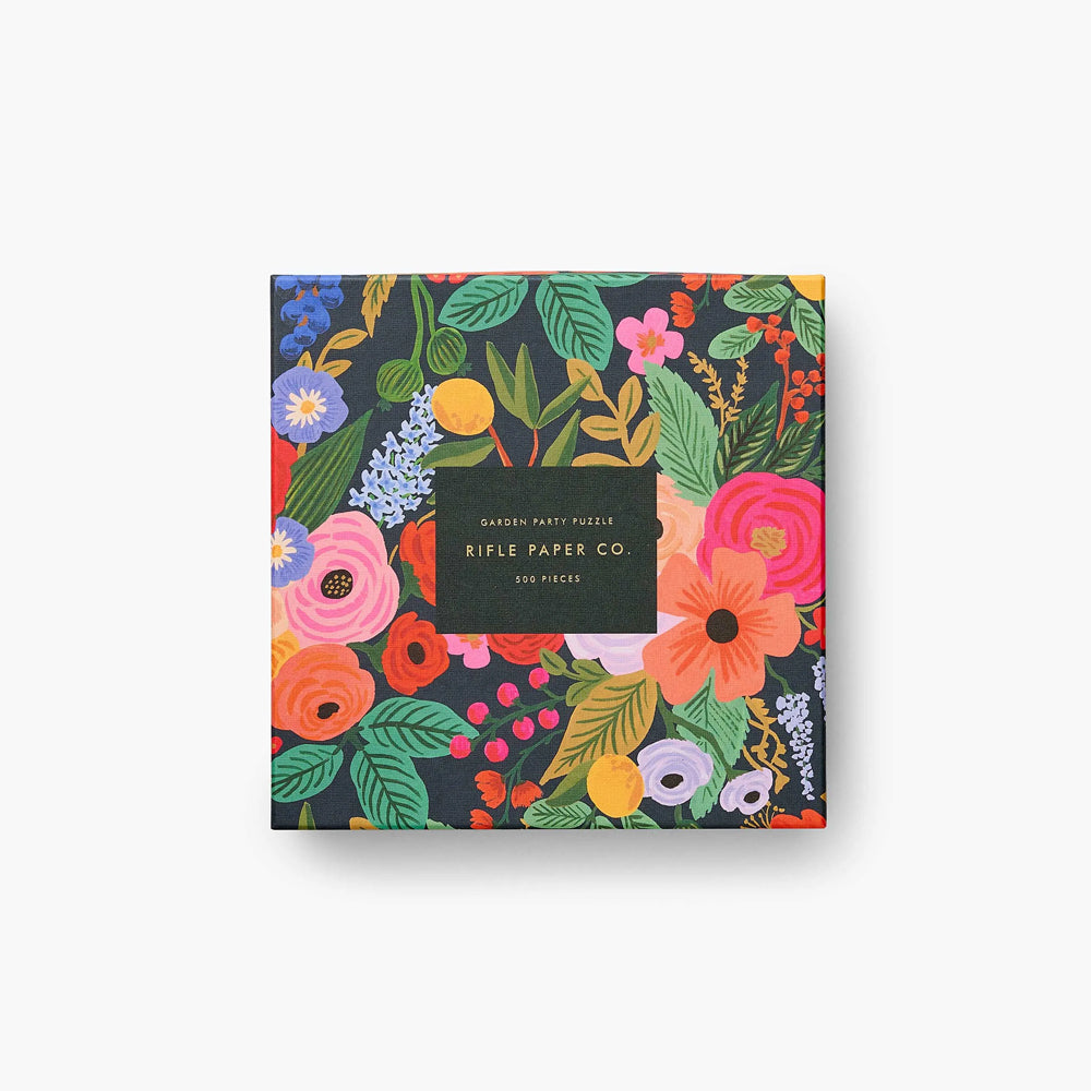 Rifle Paper Co. Jigsaw Puzzle Garden Party