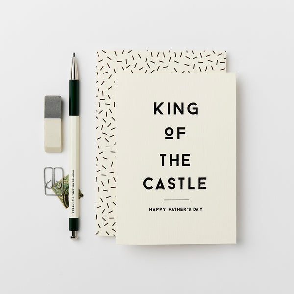 Katie Leamon King Of The Castle Card