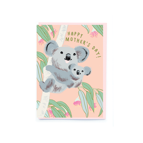 noi Cards Koala Happy Mother's Day
