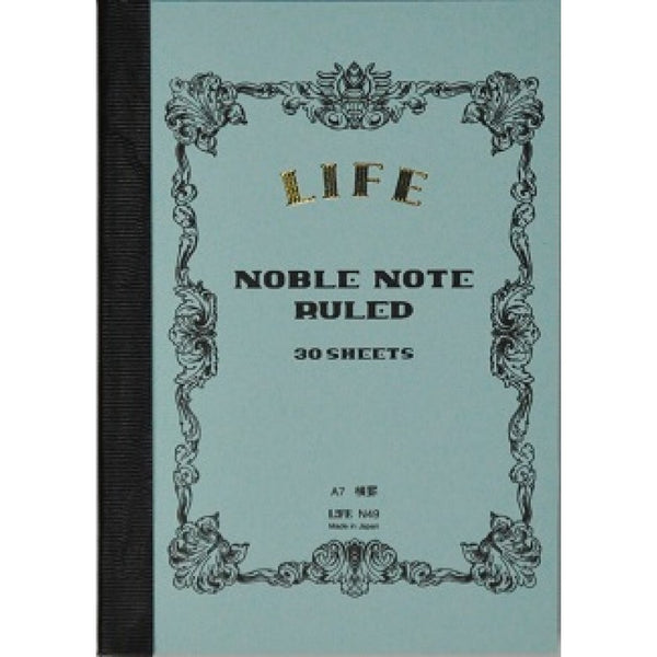 Life Noble Notebook (A7, Lined)