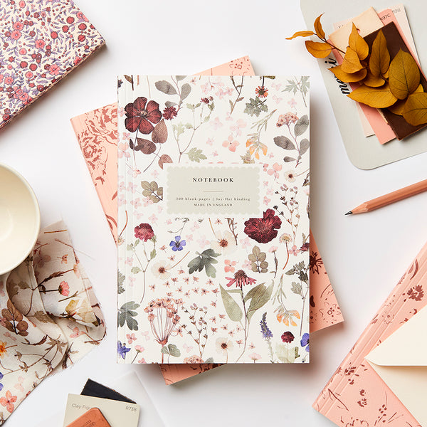 Katie Leamon Heirloom Pressed Floral Notebook