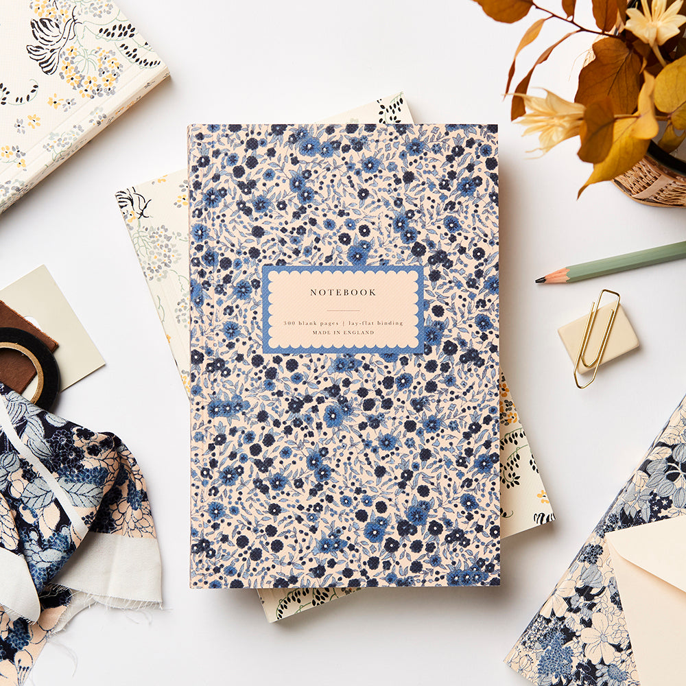 Katie Leamon Heirloom Wild Aster Notebook