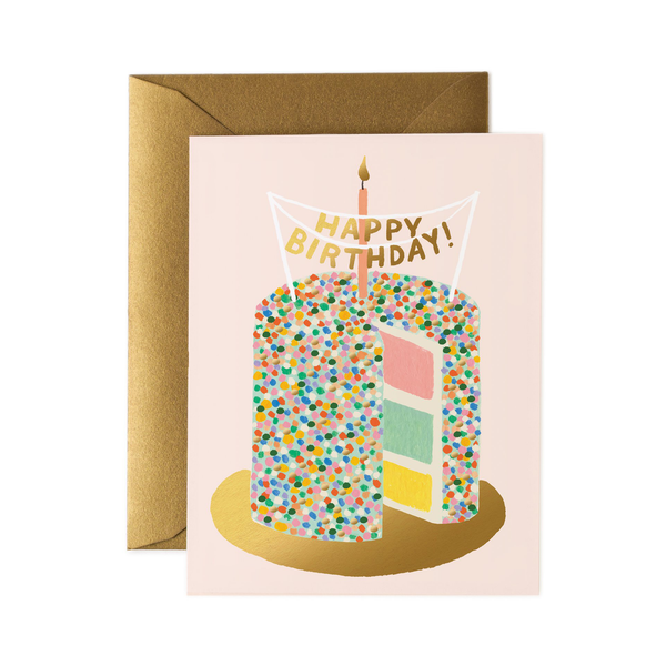 Rifle Paper Co. Layer Cake Birthday Card