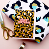 Eleanor Bowmer Happy Birthday Leopard Print Card