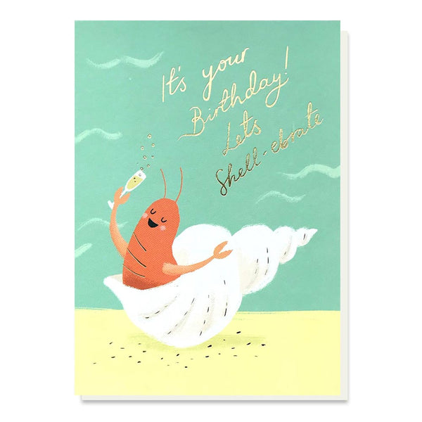 Stormy Knight Let's Shell-ebrate Birthday Card