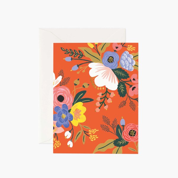 Rifle Paper Co. Lively Floral Red Card