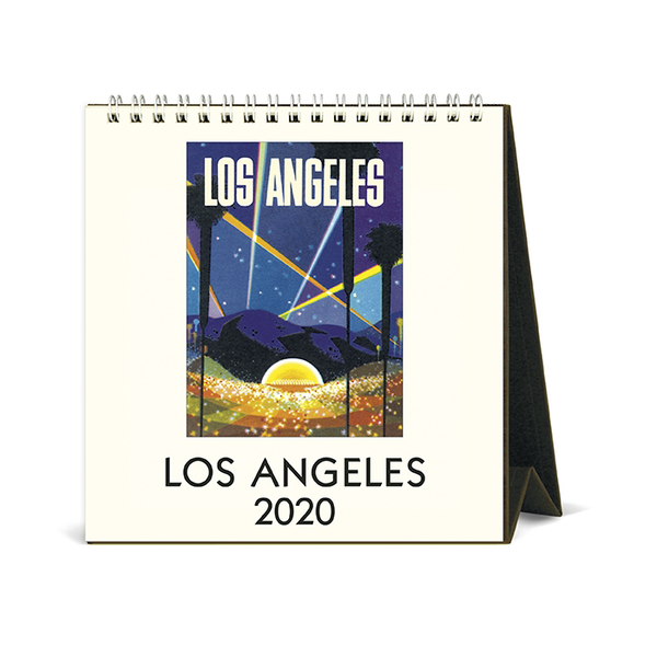 Cavallini & Co. 2018 Los Angeles Desk Calendar