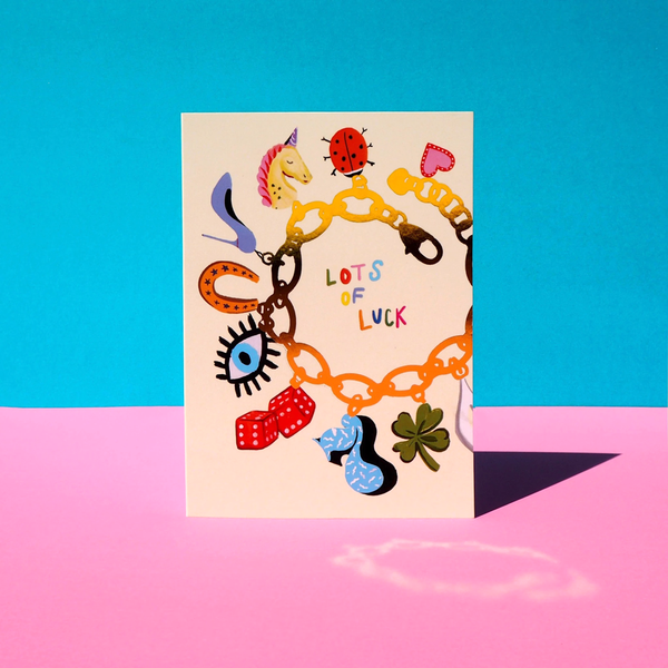 Eleanor Bowmer Lots Of Luck Charms Card