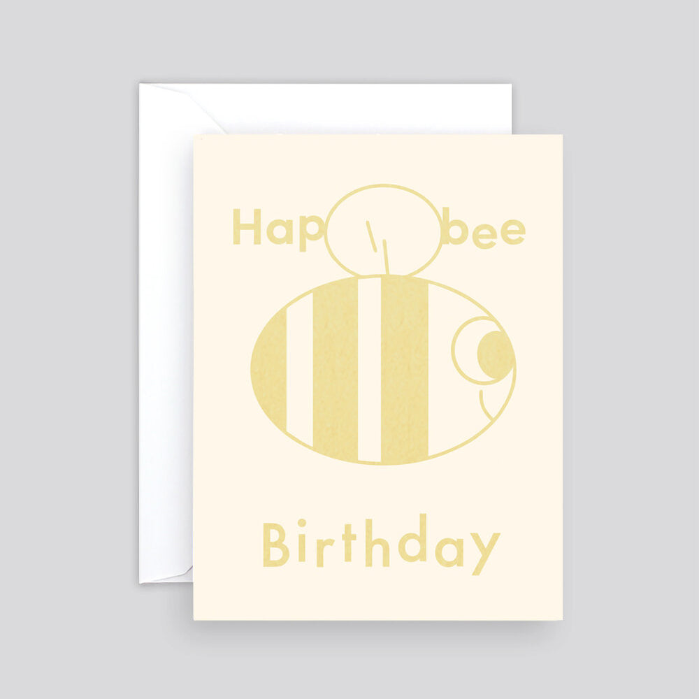 Elliot Kruszynski Hap-Bee Birthday Card