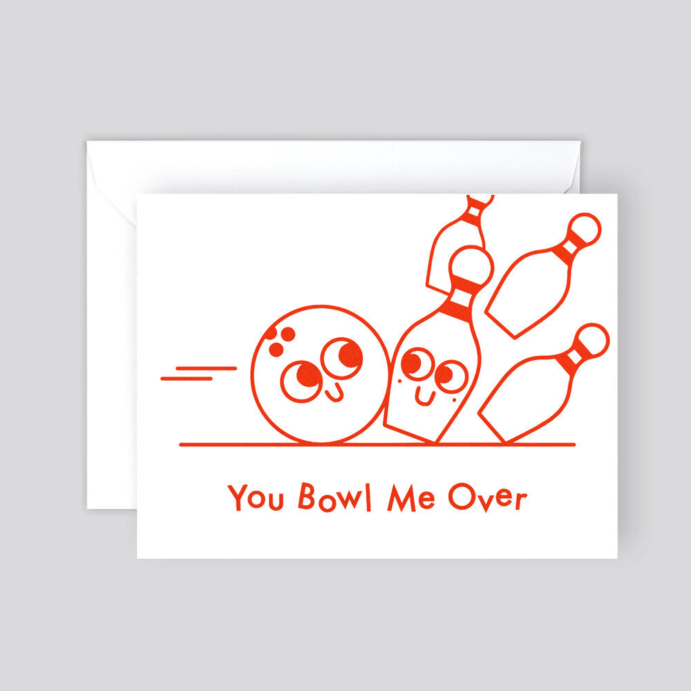 Elliot Kruszynski You Bowl Me Over Card