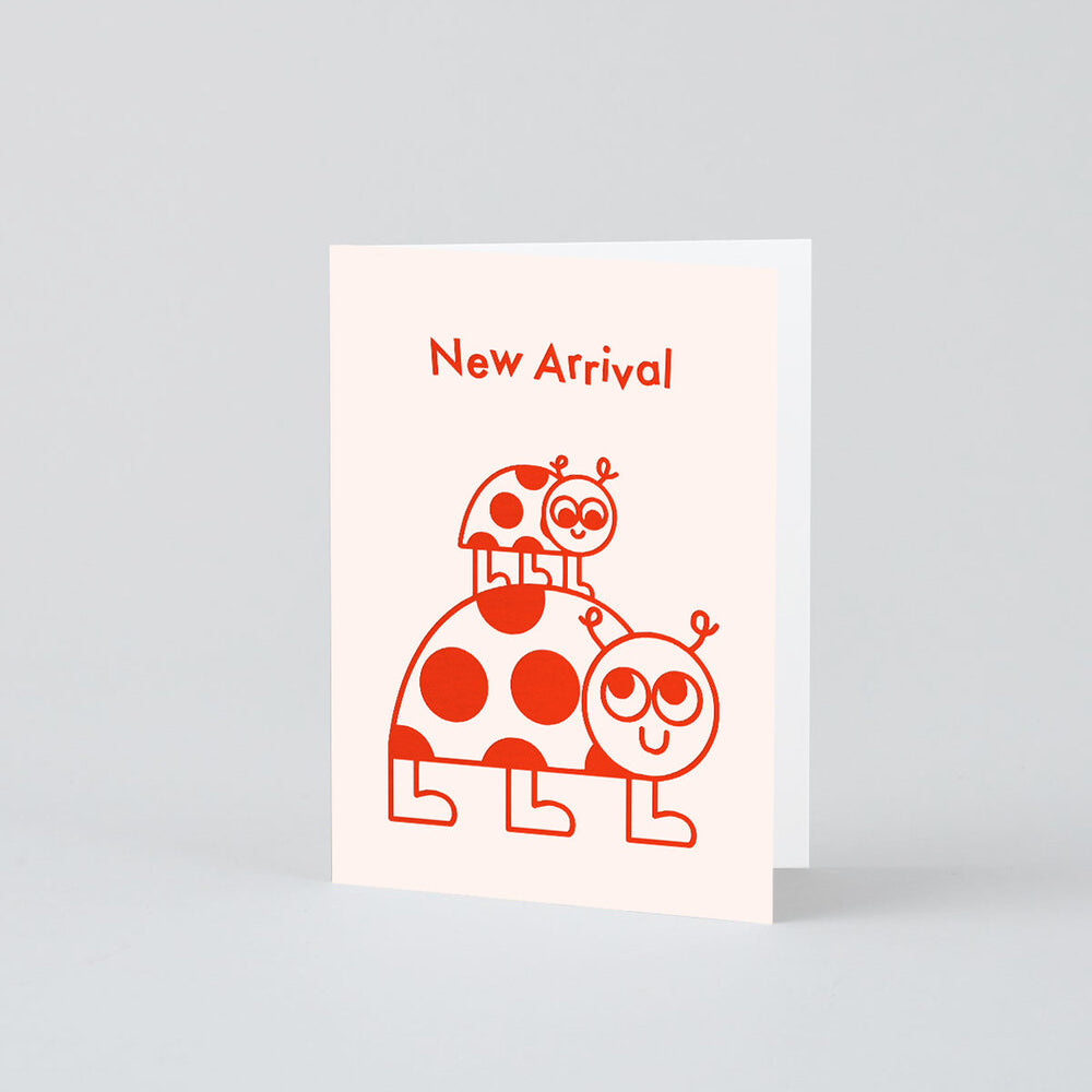 Elliot Kruszynski New Arrival Ladybirds Card