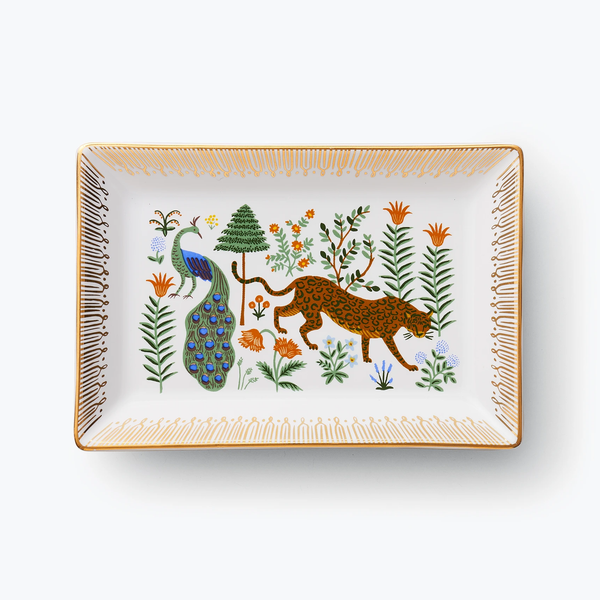 Rifle Paper Co. Menagerie Catchall Tray