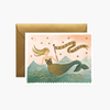Rifle Paper Co. Mermaid Thank You Card