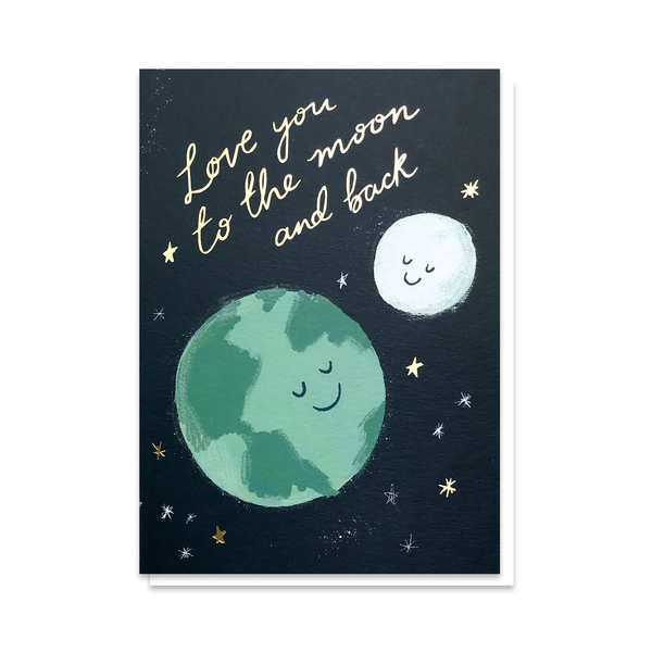 Stormy Knight Moon & Back Card