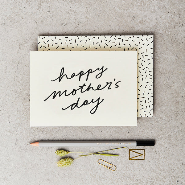 Katie Leamon Mother's Day Script Card