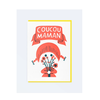 LETTERPRESS DE PARIS Coucou Maman (Hi Mum) Card