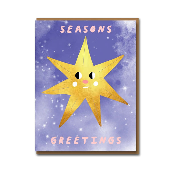 Carolyn Suzuki North Star Christmas Card Set
