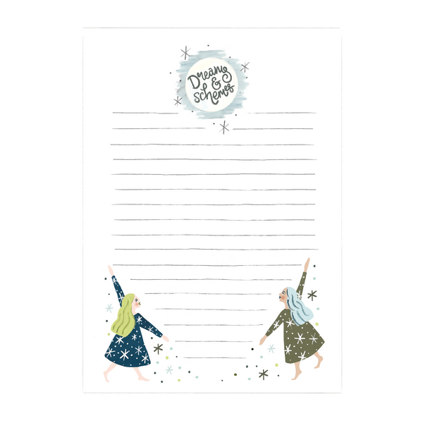 Jade Fisher Dreams Notepad