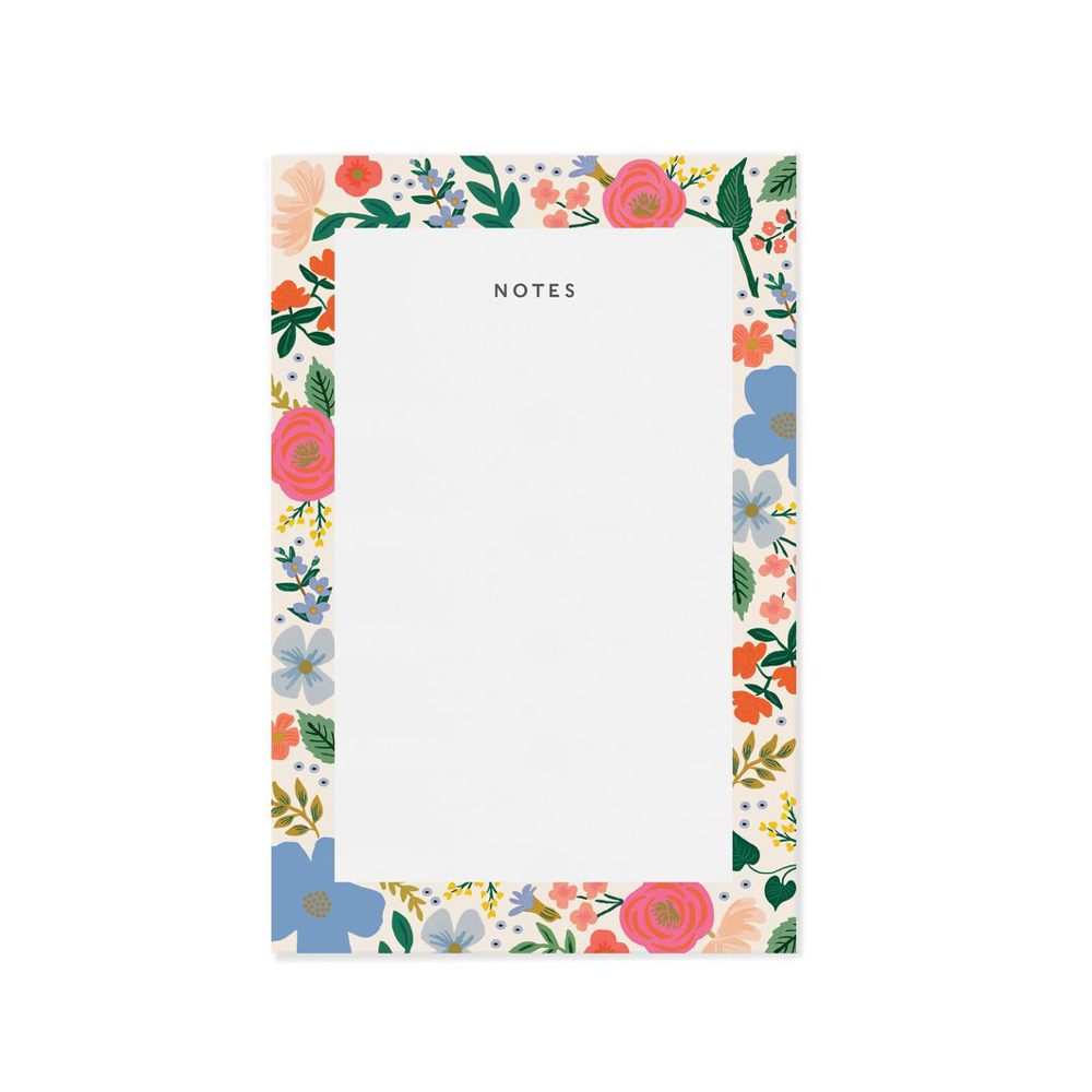 Rifle Paper Co. Wild Rose Notepad