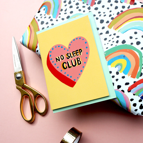 Eleanor Bowmer No Sleep Club Card