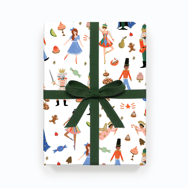 Rifle Paper Co. Nutcracker Christmas Gift Wrap