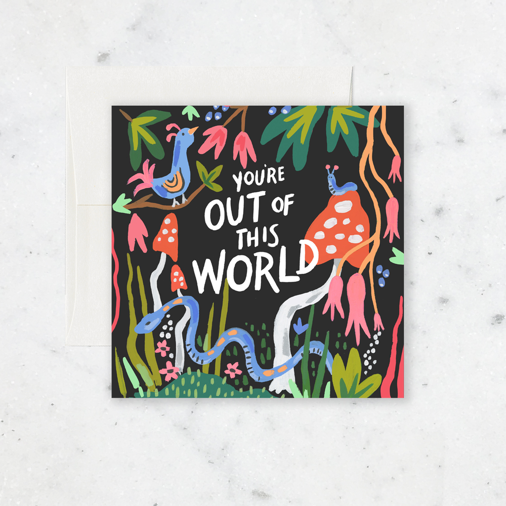 Idlewild Co. Out Of This World Card