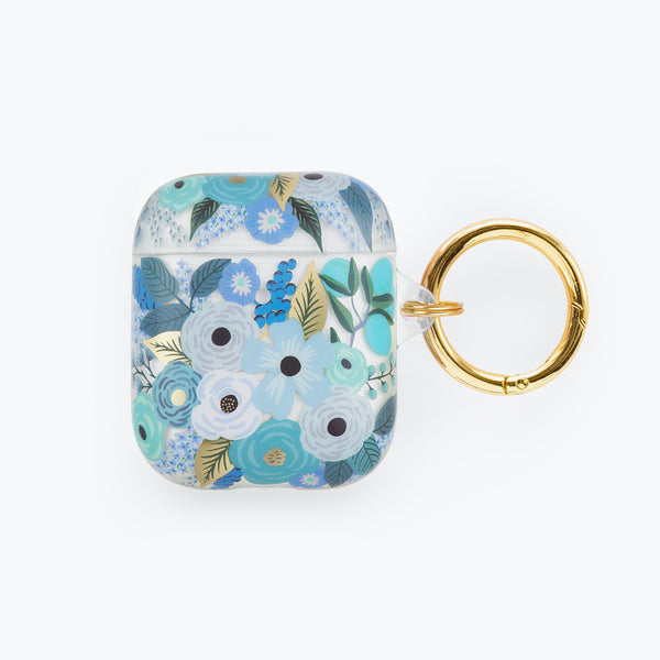 Rifle Paper Co. AirPods Case - Clear Garden Party Blue