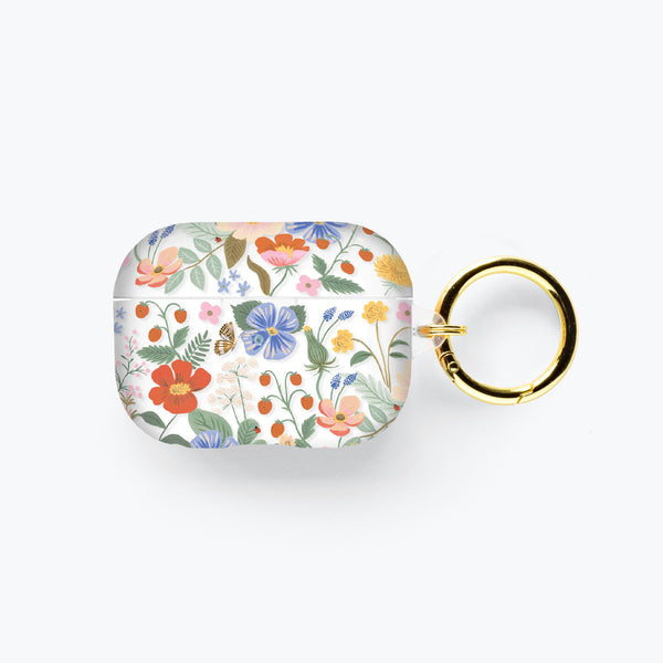 Rifle Paper Co. AirPods Pro - Clear Strawberry Fields (AIRPODS PRO)