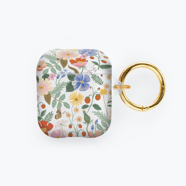 Rifle Paper Co. AirPods Case - Clear Strawberry Fields