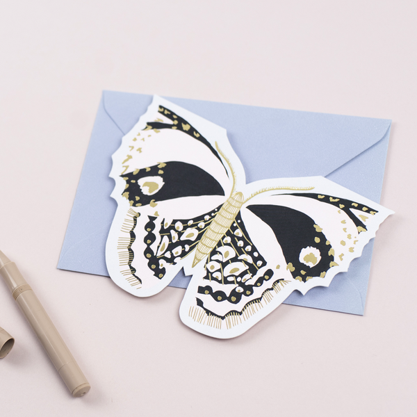 Katie Housley Butterfly Birthday Card