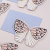 Katie Housley Pink Moth Birthday Card