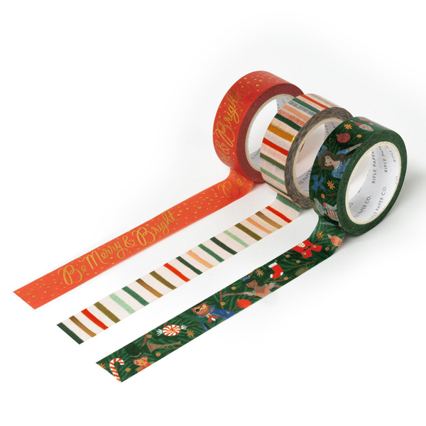 Rifle Paper Co. Nutcracker Christmas Paper Tape