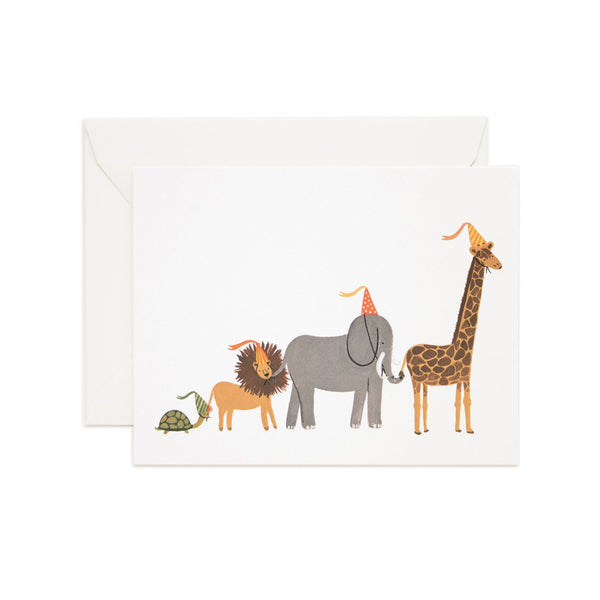 Rifle Paper Co. Party Parade Birthday Card