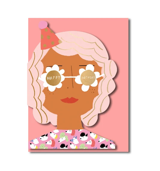 Carolyn Suzuki Party Girl Card