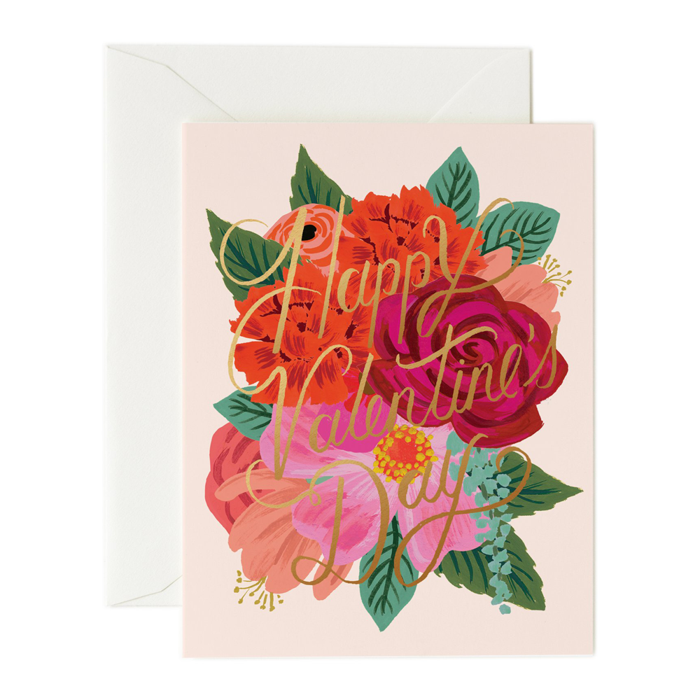 Rifle Paper Co. Perennial Valentine Card