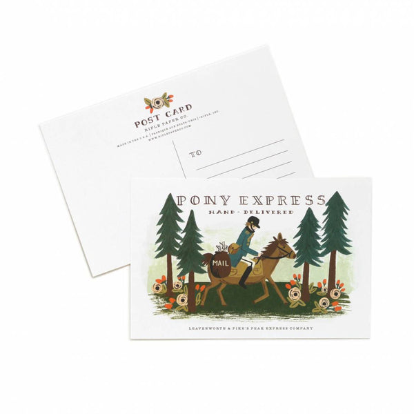 Rifle Paper Co. Pony Express Postcards