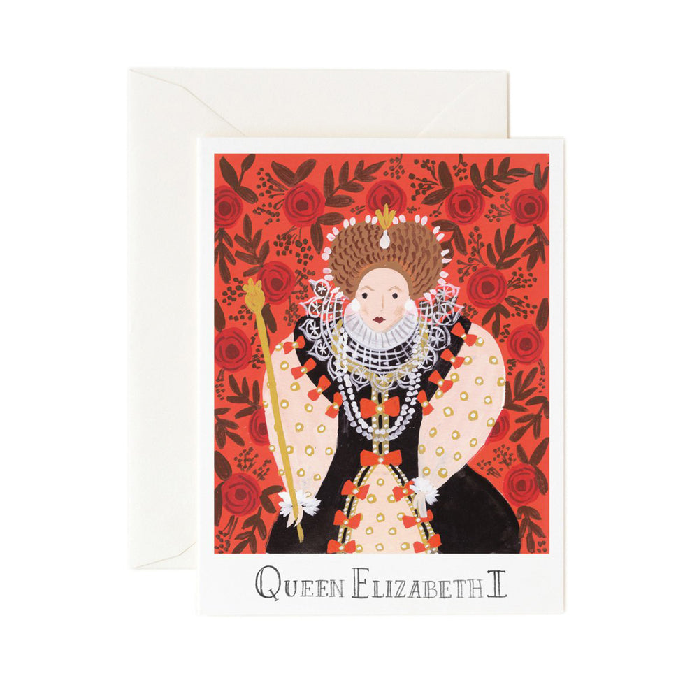 Rifle Paper Co. Queen Elizabeth I Card