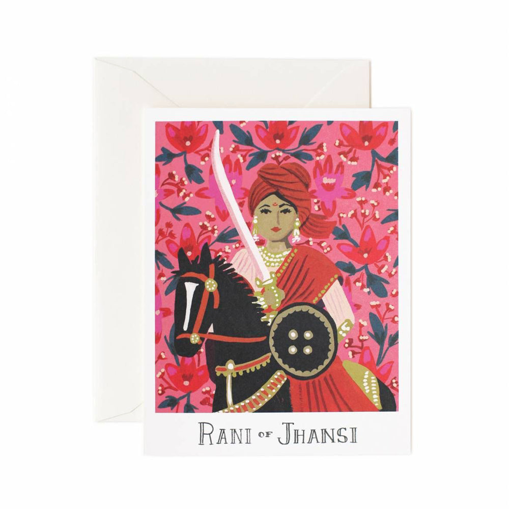 Rifle Paper Co. Rani Of Jhansi Card